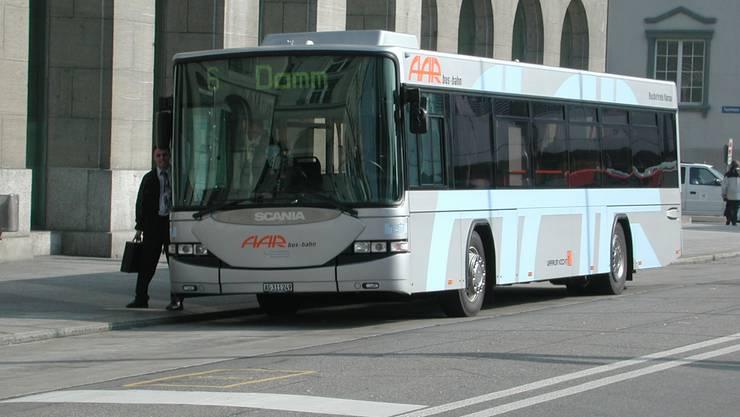 Erlinsbach AG soll auf Antrag des Gemeinderates seine Aktien am Busbetrieb Aarau verkaufen. (Bild: AZ-Archiv)