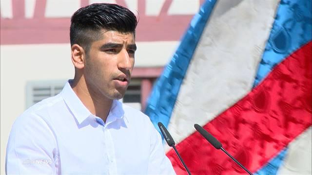 Asylbewerber haltet 1.-August-Rede