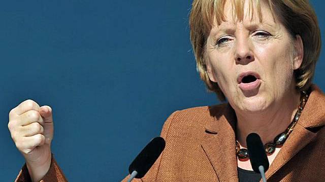 Angela Merkel will bis am Sonntag Wähler mobilisieren