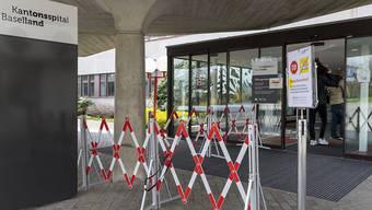 Der Kanton Baselland verzeichnet derzeit keine Spitalaufenthalte wegen des Coronavirus. (Symbolbild)
