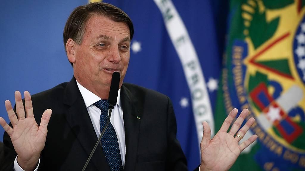 Bolsonaro hält Eile bei Corona-Impfung für «nicht gerechtfertigt»