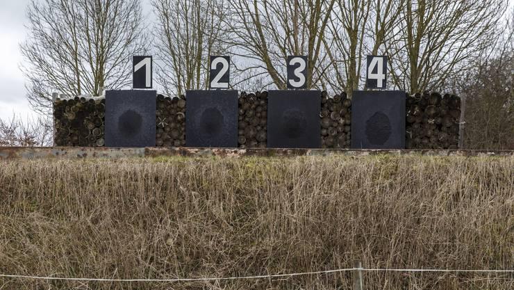 Die Schiessanlage in Bolken, auf der noch geschossen wird.