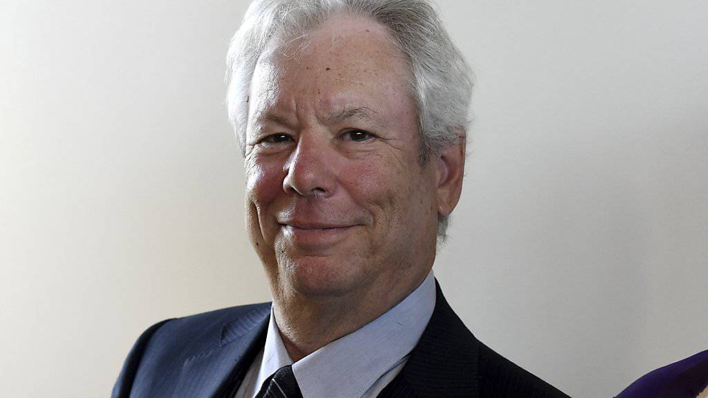 US-Forscher Richard Thaler erhält den diesjährigen Wirtschaftsnobelpreis.