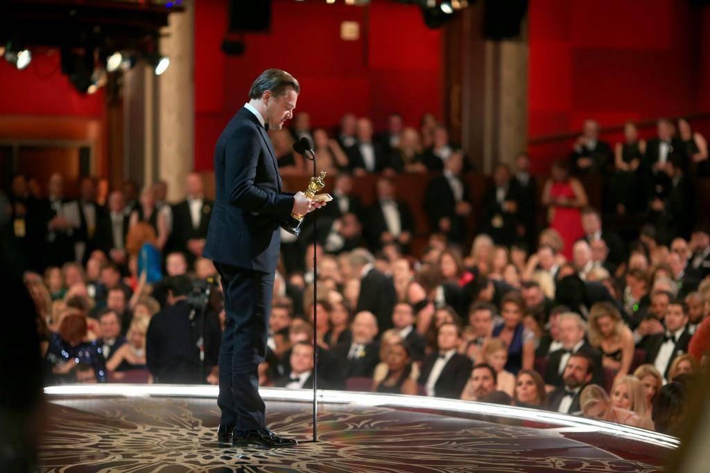 Leonardo DiCaprio, bester Hauptdarsteller. (© Getty Images)