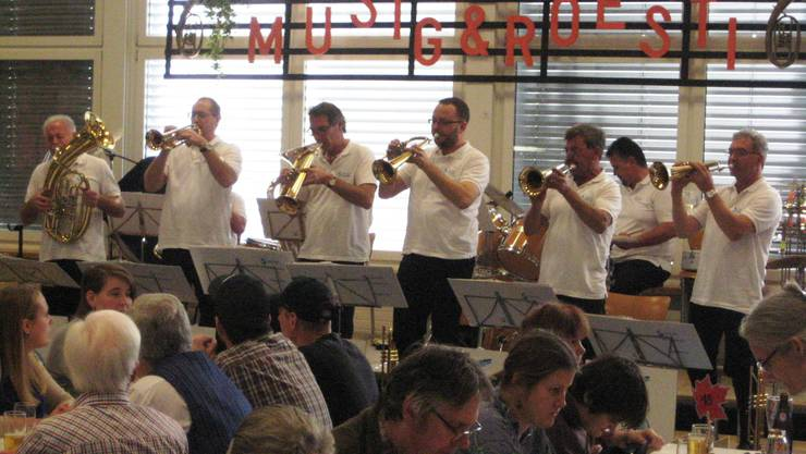 Die Solvay Musikanten mit ihrem wunderschönen Spiel.