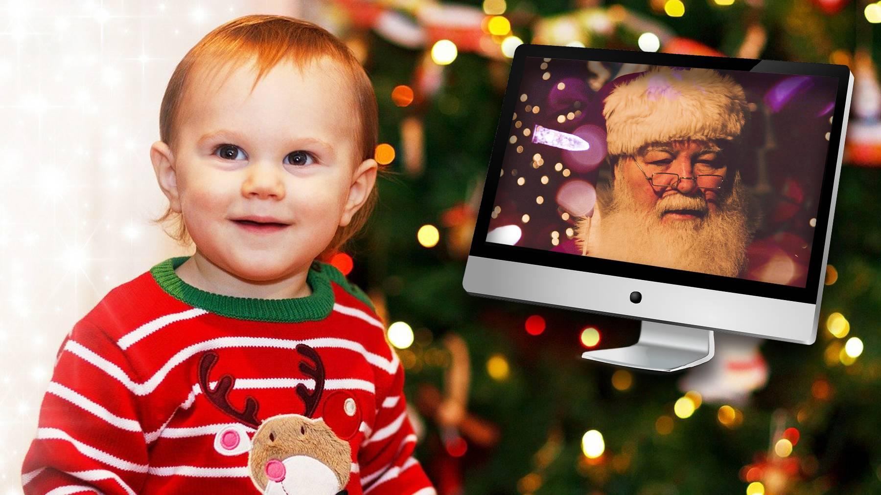 Samichlaus verschickt Videos an Kinder
