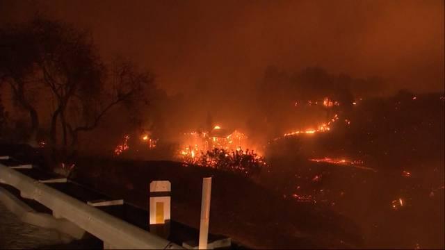Schweizerin berichtet von den Waldbränden in Kalifornien