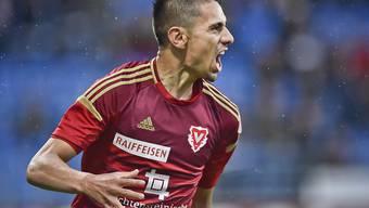 Gonzalo Zarate verlässt Super-League-Absteiger Vaduz und trägt künftig das Trikot von Lausanne-Sport