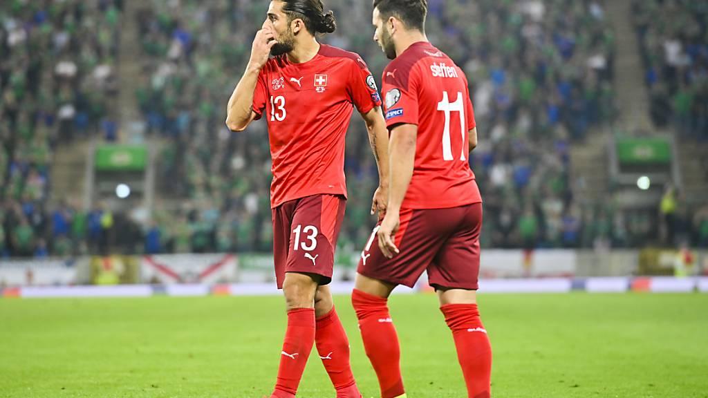 Für Ricardo Rodriguez, Renato Steffen und die Schweizer Nationalmannschaft ist nach Belfast die Option Playoffs die wahrscheinlichste