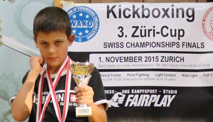 Enrico Raggini ist zum zweiten Mal nacheinander Schweizer Meister.