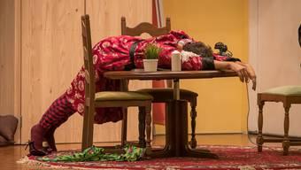 Das Stück «Ke Maa für ei Nacht» weiss mit schöner Kulisse und viel Schauspielkunst zu überzeugen. Thierry Schmidli