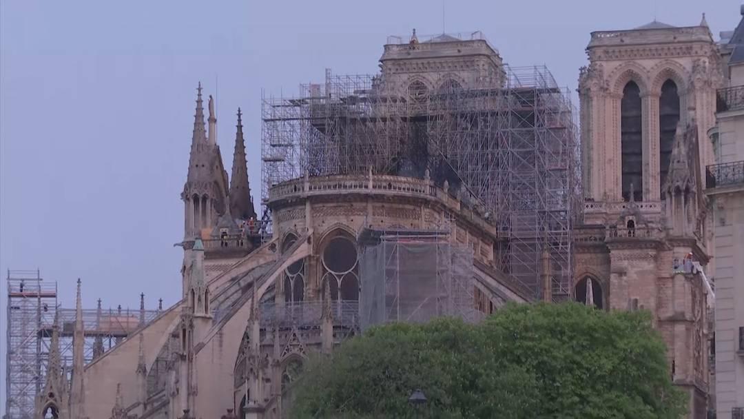 16. April: Grossbrand Notre-Dame – der Morgen danach