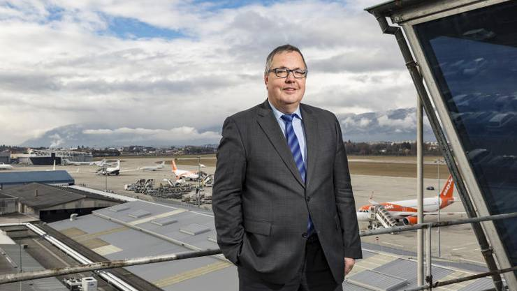 Der 59-jährige André Schneider ist seit drei Jahren Chef des Flughafens Genf.