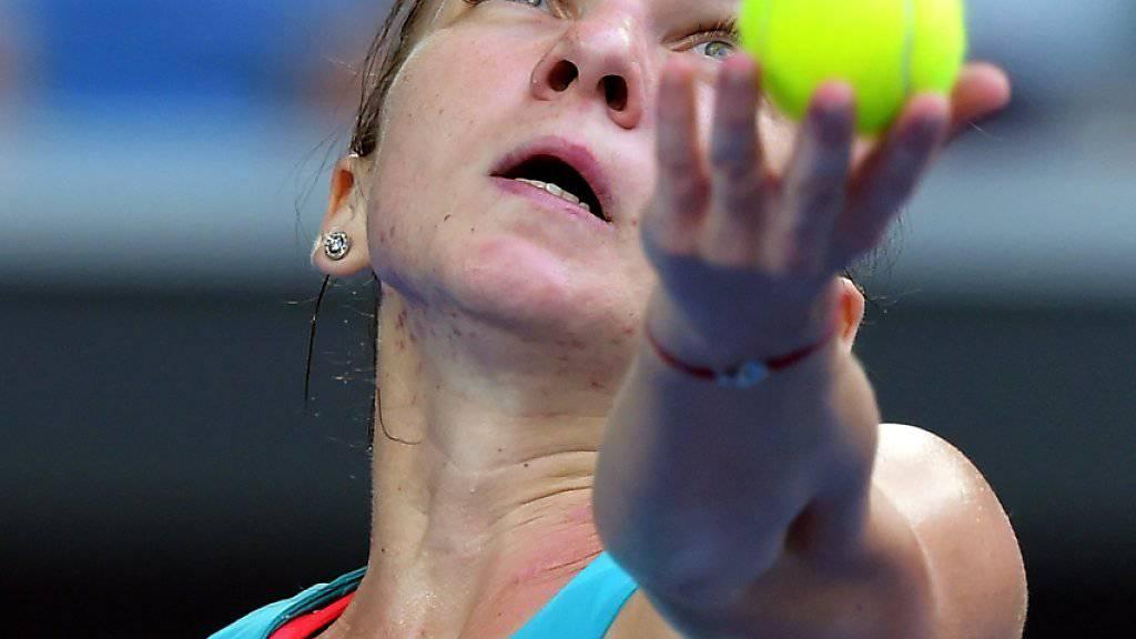 Für Simona Halep ist das Australian Open bereits vorbei