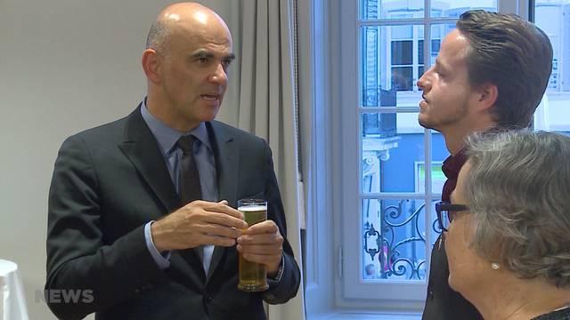 AHV: Alain Berset auf Stimmenfang