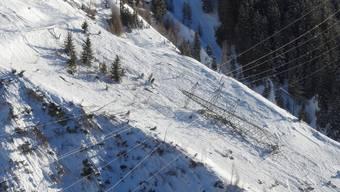 Zermatt abgeschnitten (21. Januar)