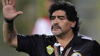 Diego Maradona will 2,5 Millionen Euro erstreiten (Archiv)