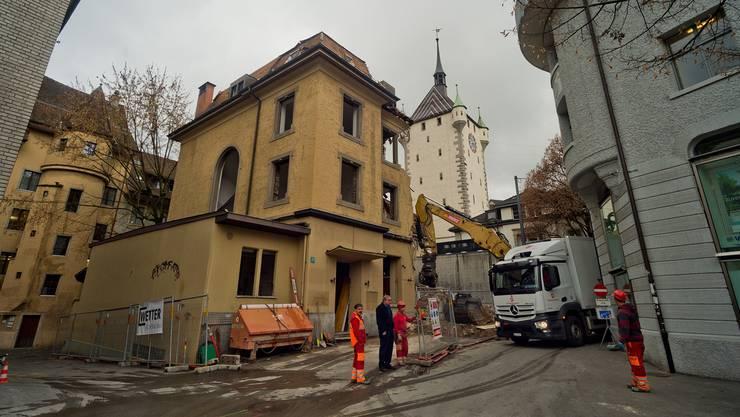 Die «Trattoria» verschwindet vom Badener Stadtbild.