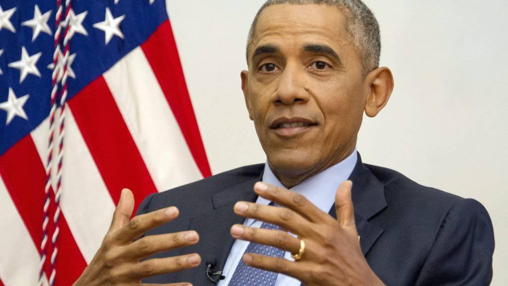 Mit ihrem Engagement können Bürgerinnen und Bürger viel verbessern: Das glaubt US-Präsident Barack Obama. (Archiv)