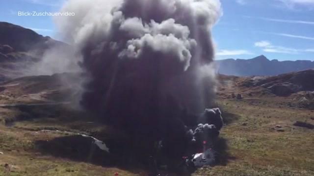 Zwei tote Piloten am Gotthard