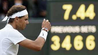 Nadal scheidet gegen Mueller im Wimbledon-Achtelfinal aus