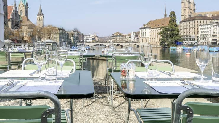 Das «Bauschänzli» im Herzen Zürichs ist bereit für den Neustart – sofern das Wetter mitspielt.