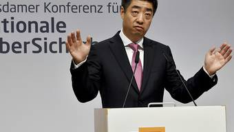 """Der stellvertretende Vorsitzende von Huawei, Houkun Hu, hat das Vorgehen der USA gegen sein Unternehmen an einer Cybersicherheitskonzferenz in Potsdam am Donnerstag als """"unfair"""" und """"unbegründet"""" bezeichnet."""