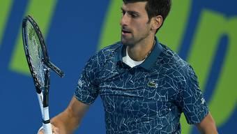 Novak Djokovic strapaziert gegen Roberto Bautista Agut Nerven und Material