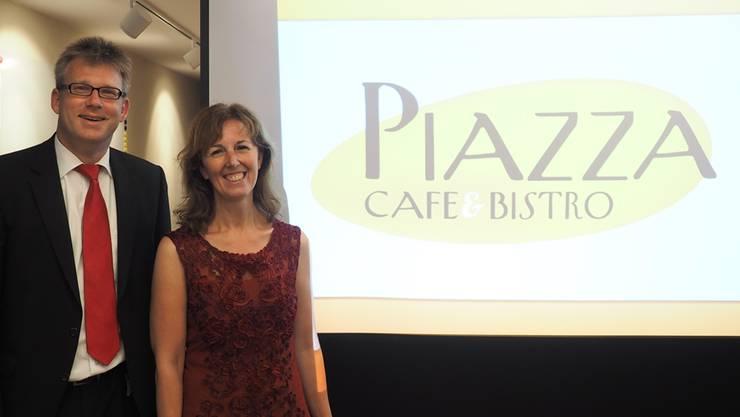 Im Raiffeisen-Haus eröffnet Jacqueline Thommen im Dezember das «Piazza».