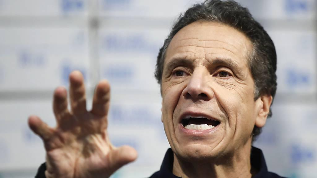 New Yorks Gouverneur: Zu schnelle Öffnung kostet Menschenleben