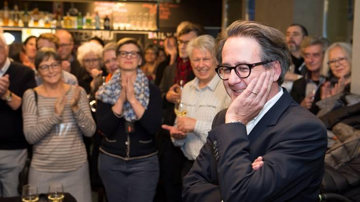 Erich Obrist freut sich über seine Wahl