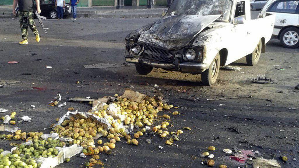 IS-Angriff auf syrische Stadt - über 200 Tote