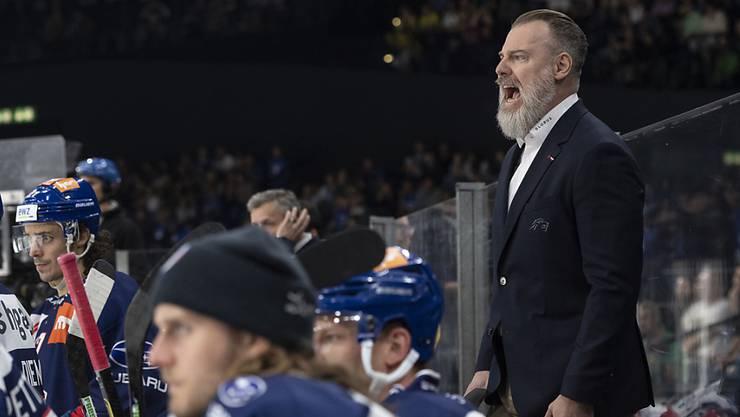 Trainer Rikard Grönborg hat die Lions wieder an die Tabellenspitze geführt.