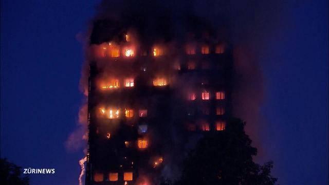Inferno in London: So sicher sind Hochhäuser in Zürich