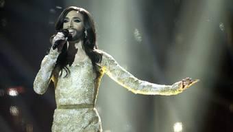 Conchita Wurst gewann für Österreich mit dem Lied «Rise like a Phoenix».