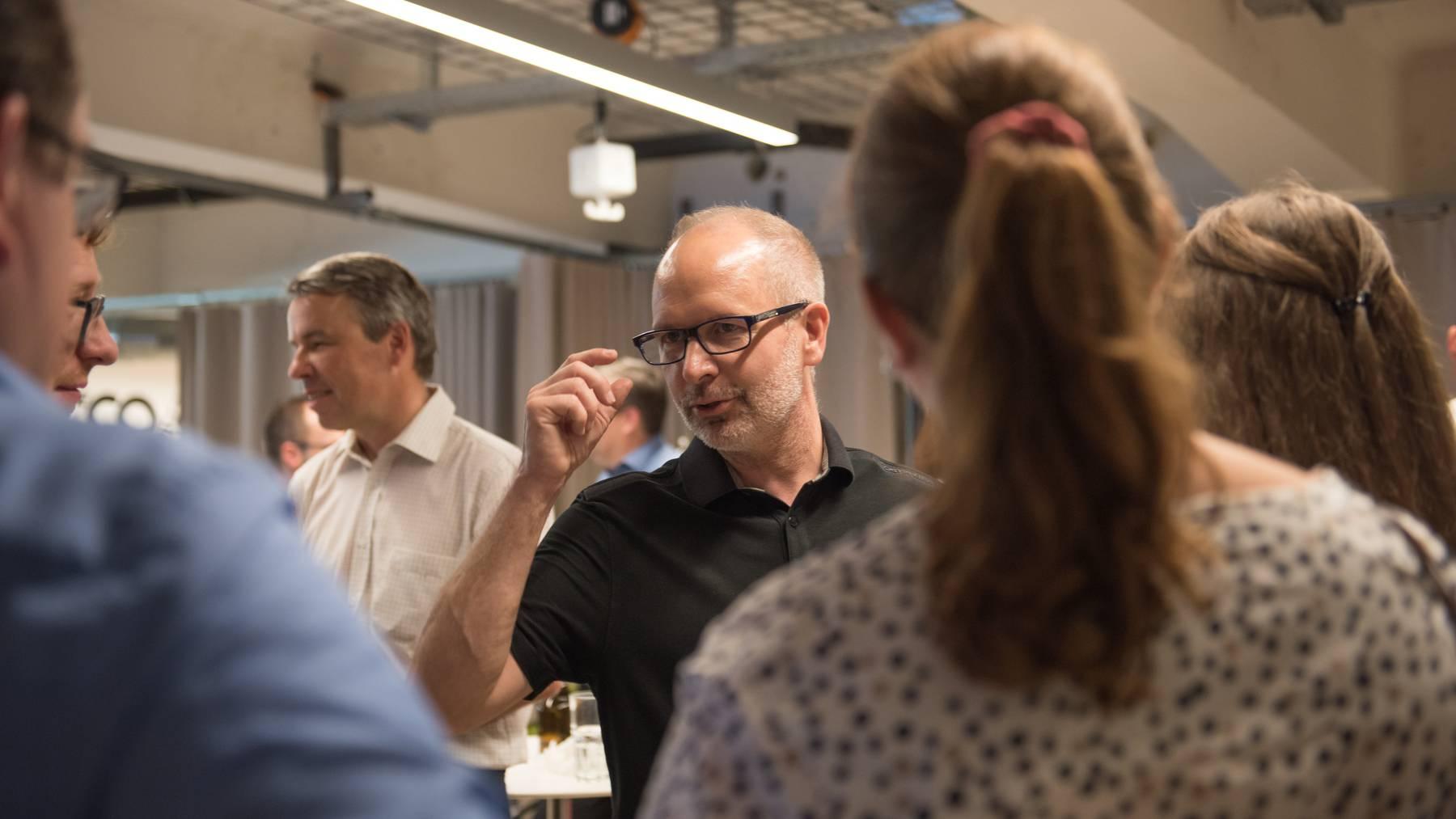 Regierungsrat und Bildungsdirektor Stefan Kölliker ist erleichtert über den Ausgang der Abstimmung zum neuen HSG-Campus in der Stadt St.Gallen.