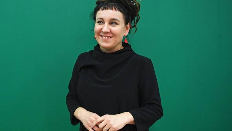 Die polnische Autorin Olga Tokarczuk erhielt den nachgeholten Literaturnobelpreis für 2018. (Archivbild)