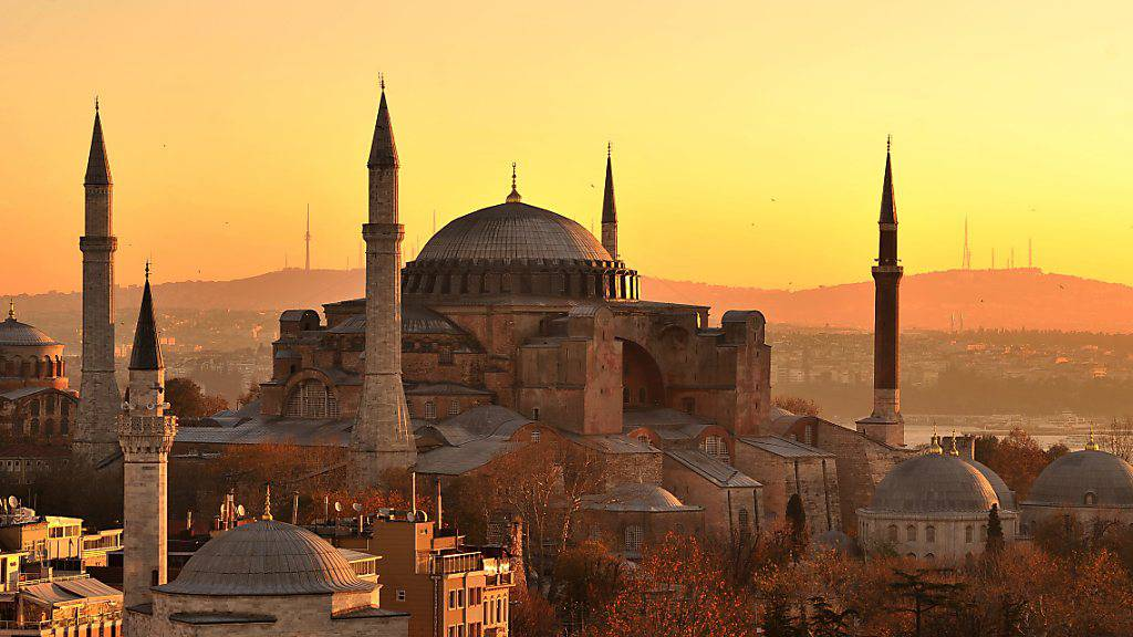 Hagia Sophia wird wieder eine Moschee