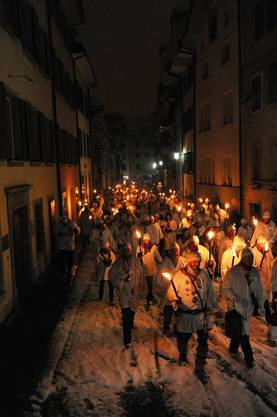 Hunderte Chessler ziehen durch Solothurn