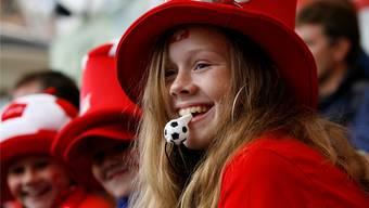Während der Fussball-WM kann mitgefiebert werden mit der Schweizer Nationalmannschaft. Basler Restaurants dürfen draussen Fernsehen und Leinwände aufstellen. (Symbolbild).