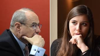 Claude Janiak und Samira Marti