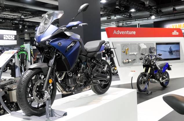 Das Design stimmt: Eine Yamaha Tracer 700 an der diesjährigen Swiss Moto.