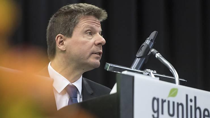 Der Zürcher Nationalrat Martin Bäumle ist an der Delegiertenversammlung der Grünliberalen für eine weitere Amtsperiode als Präsident der Grünliberalen Partei der Schwiez (GLP) bestätigt worden.