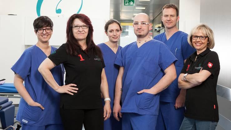 Das Team der Tagesklinik Chirurgie Baregg hat seine Arbeit Anfang Jahr aufgenommen. Carolin Frei