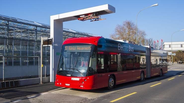 Bald im Einsatz zwischen Bern-Bahnhof und Köniz: Bernmobil setzt auf Elektrobusse der Firma Hess.