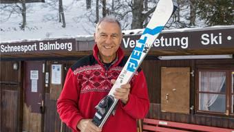 Seit über 50 Jahren als Skilehrer dabei: Hans Küpfer hofft auf viel Schnee auf dem Balmberg.