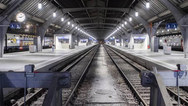 Täglich fahren knapp 3000 Züge in den Hauptbahnhof Zürich, rund 470'000 Passagiere werden hier abgefertigt – jeden Tag. Doch seit einer Woche wurde es merklich ruhiger im «HB».