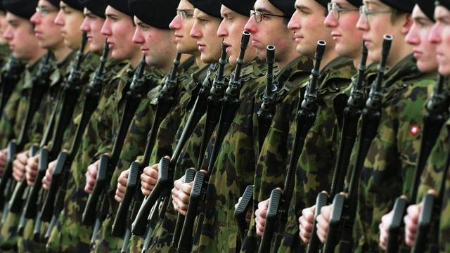 Die Armee brauche 120'000 Mann, sagt die Schweizerische Offiziersgesellschaft
