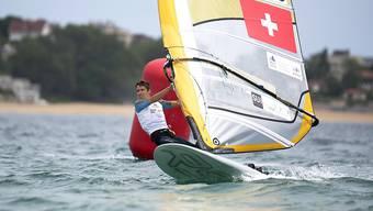 Windsurfer Mateo Sanz Lanz sichert der Schweiz einen Olympia-Quotenplatz