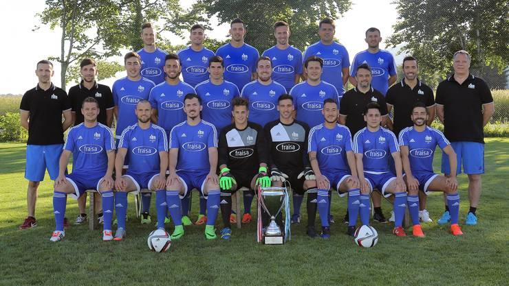 Teamfoto FC Bellach
